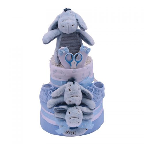 EEYORE TWO TIER CAKE from Special Momentz Nappy Cakes