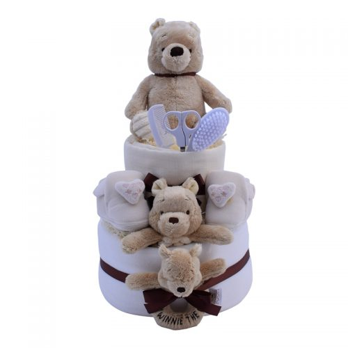 Winnie the Pooh nappy cake from Special Momentz