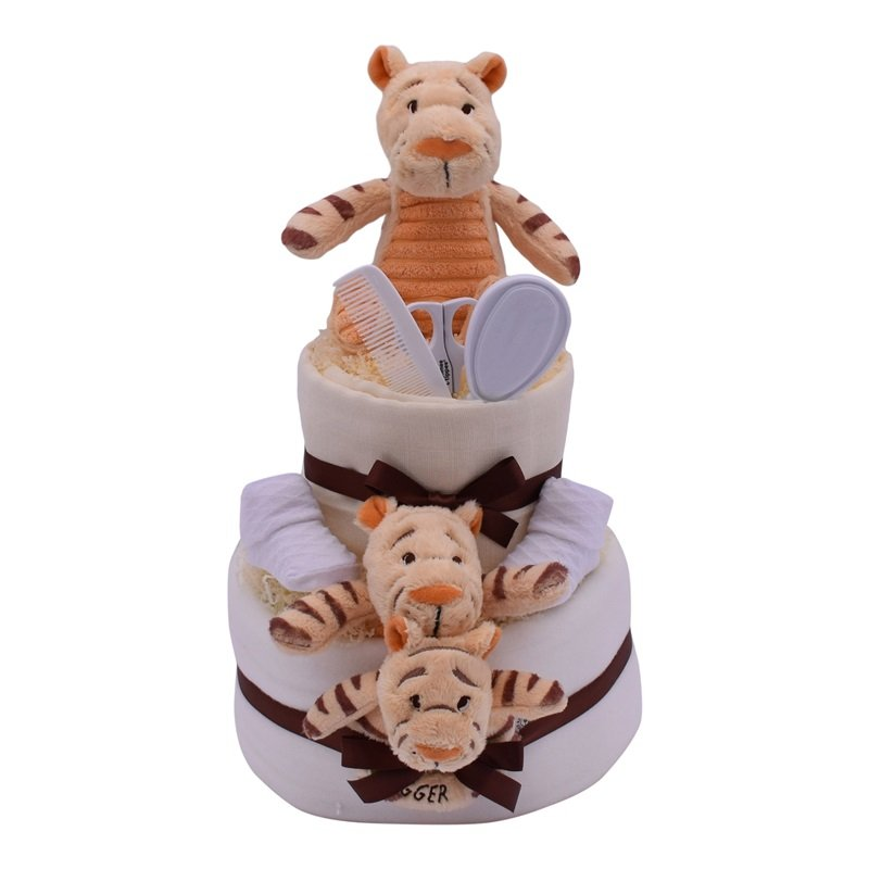 TIGGER Nappy Cake from Special Momentz