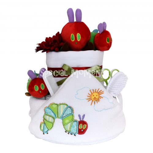 Very Hungry Caterpillar Nappy Cake