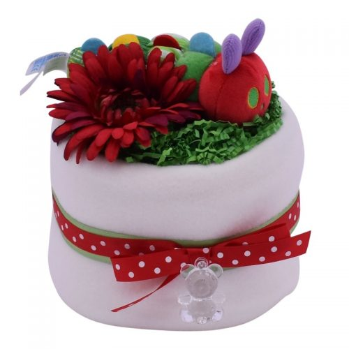 MINI CATERPILLAR NAPPY CAKE from Special Momentz
