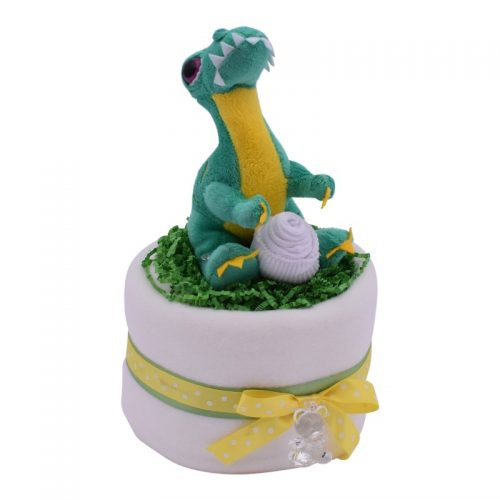 Mini Dinosaur Nappy Cake from Special Momentz Nappy Cakes