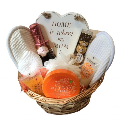 luxury pamper basket