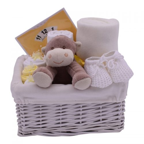 NEW BABY NEUTRAL HAMPER from Special Moment Nappy Cakes