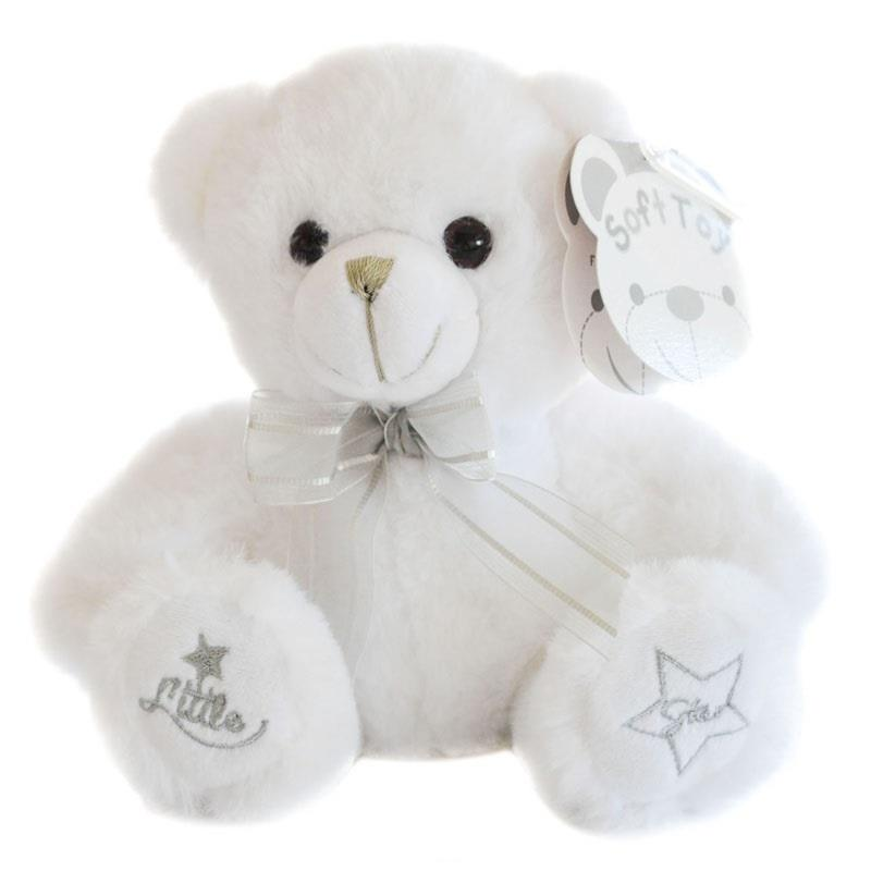 New Baby white star teddy 25cm from Special Momentz