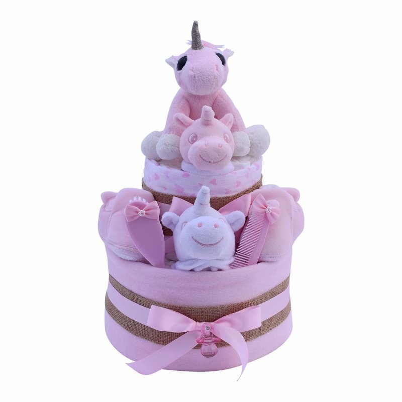 Two Tier Pink Unicorn