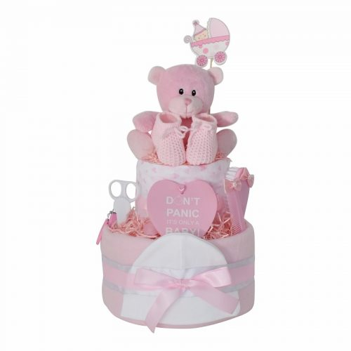 two tier pink new
