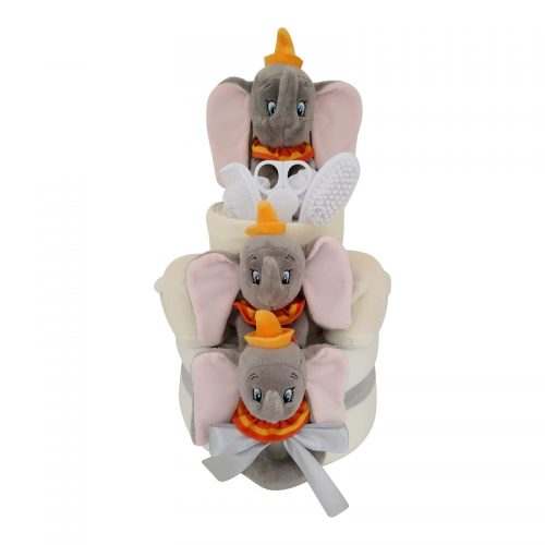 dumbo nappy cake